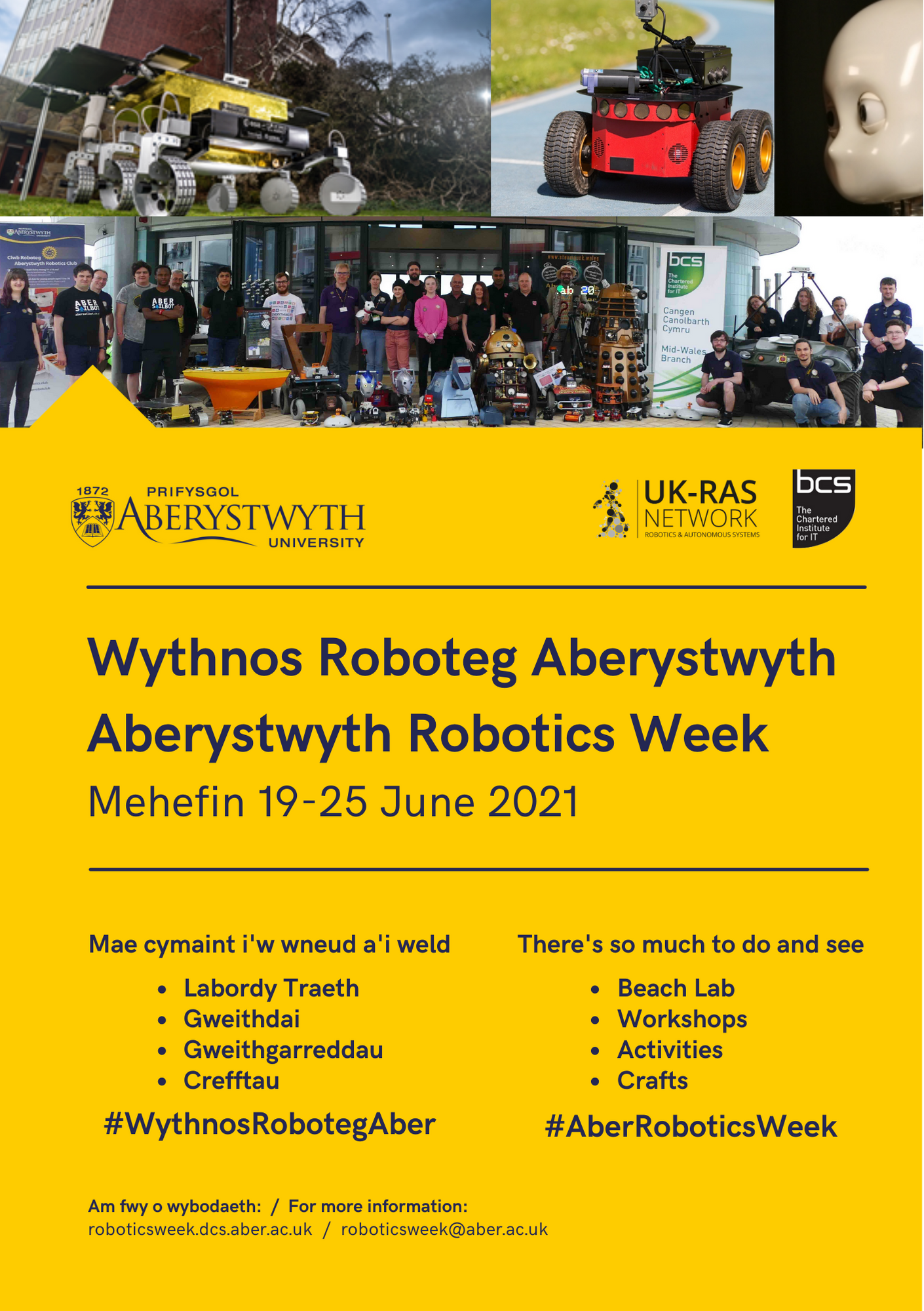 Robotics Week 2021 Poster